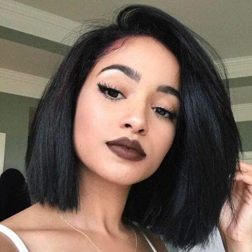55 Swaggy Bob Hairstyles For Black Women My New Hairstyles Wig Hairstyles Womens Hairstyles Hair Color For Black Hair