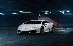 Branco Lamborghini Marca de luxo