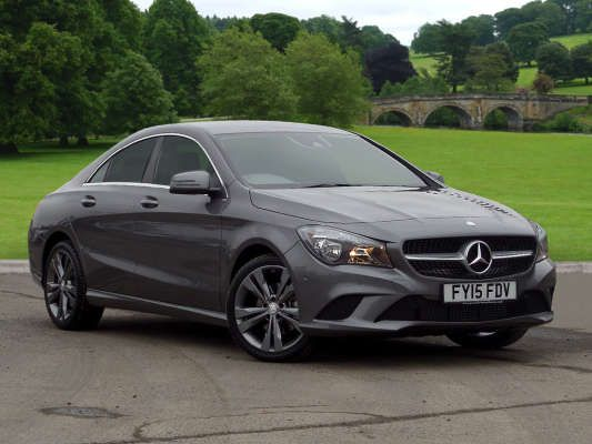 Used 2015 15 Reg Mountain Grey Metallic Mercedes Benz Cla Class Cla 220 Cdi Sport 4dr Tip Auto