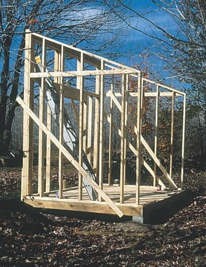 Free Man Cave Shed Plans : Best images about simple shed plans gambrel roof