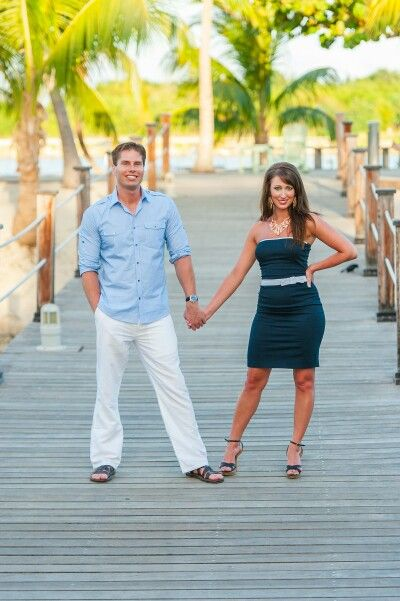 Grand Cayman Engagement Picture.