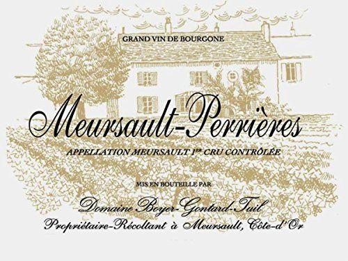 2012 Domaine BoyerGontard Meursault Premier Cru Perrieres 750 mL -- For more information, visit image link.