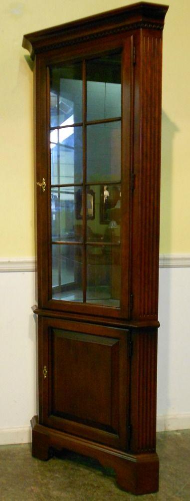 Small Corner Cabinet 4461 1018 Small Cherry Corner
