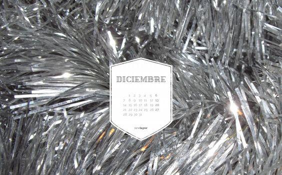 newlayer – blog #calendar, #calendario, #wallpaper, #salvapantallas, #gratis, #free #freedownload, #diciembre #december