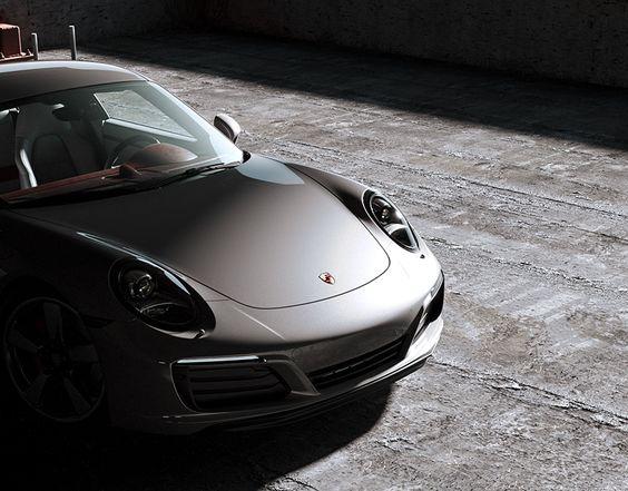 Porsche 911 / Taizhou on Behance