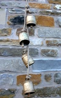 hanging cow bells