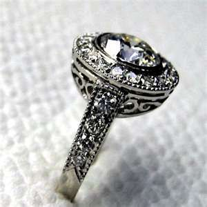 Antique Wedding Rings  I just love vintage jewelry