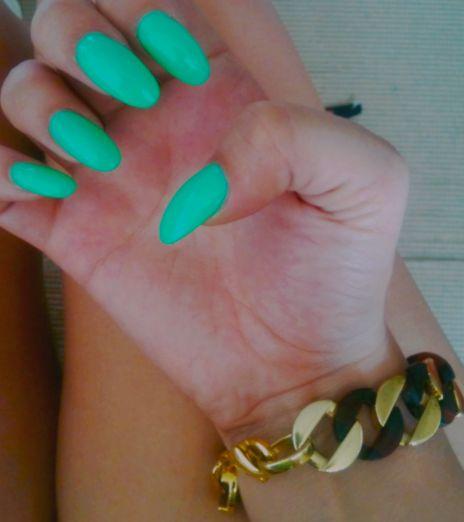 round nails   Tumblr   Nails Art   Pinterest   Nail design ...