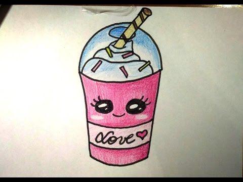 Como Desenhor Chocolate Kawaii Fofo Youtube Desenhos