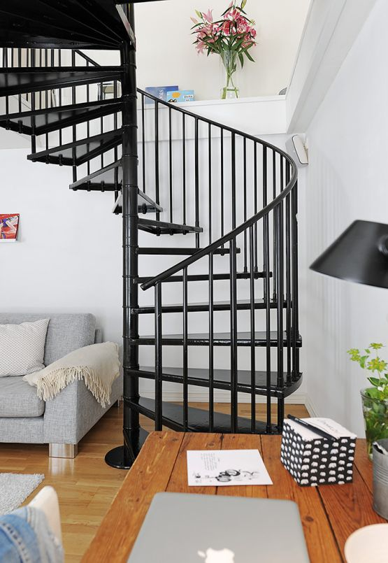 19 escaleras en pisos n rdicos posts blog and ideas - Escaleras modernas interiores ...