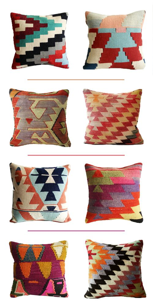 BUUUUMMED that when I clicked over I found that these pillows go for over $200. Regardless. Inspiration