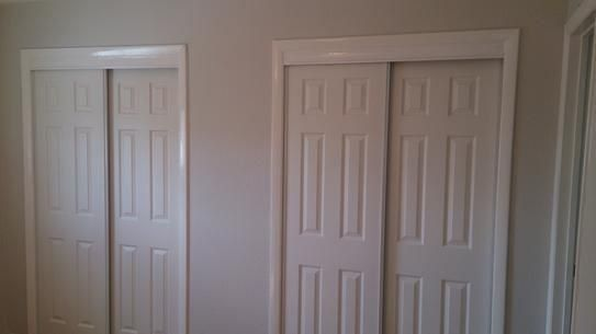 Truporte 48 In X 80 In 106 Series White Composite Interior Sliding Door 340010 The Home Depot 1000 In 2020 Sliding Doors Interior Sliding Doors The Home Depot