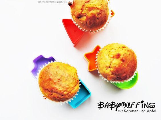 *Starlights in the Kitchen*: [BABY FOOD] Babymuffins mit Karotten und Äpfeln
