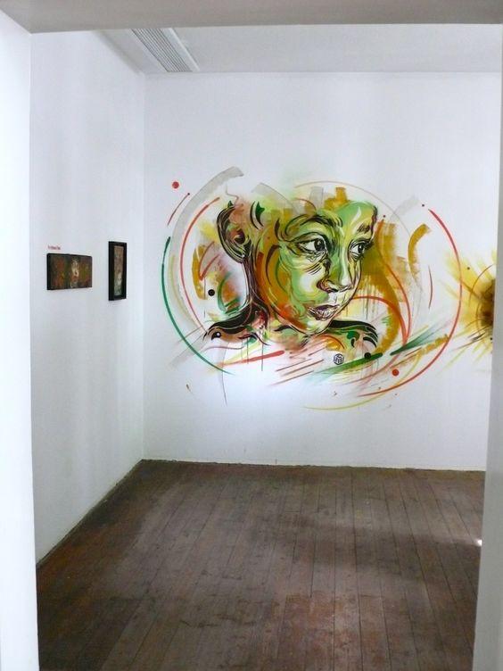 Stencil Bastards 2012, C215 at Starkart Zuerich