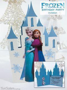 Make your own Disney Frozen Invitations