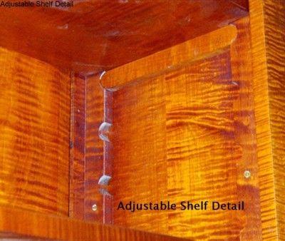 Bookcase adjustable shelf