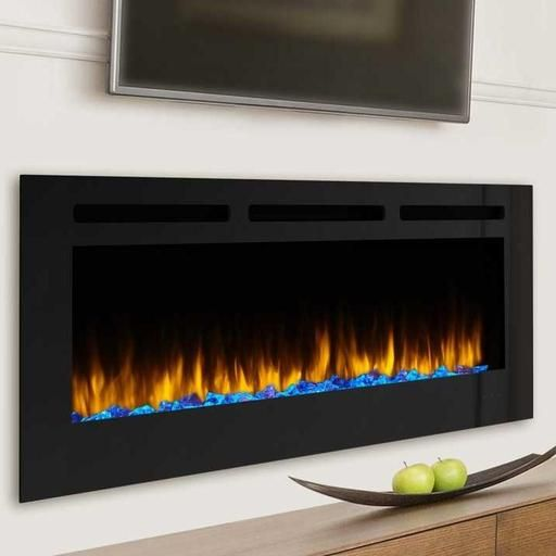 Simplifire Allusion 48 Inch Wall Mounted Electric Fireplace Sf