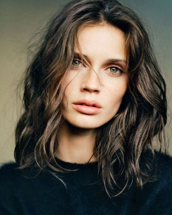 Magnificent Wavy Hair Chic Hairstyles And Hairstyles 2016 On Pinterest Short Hairstyles For Black Women Fulllsitofus