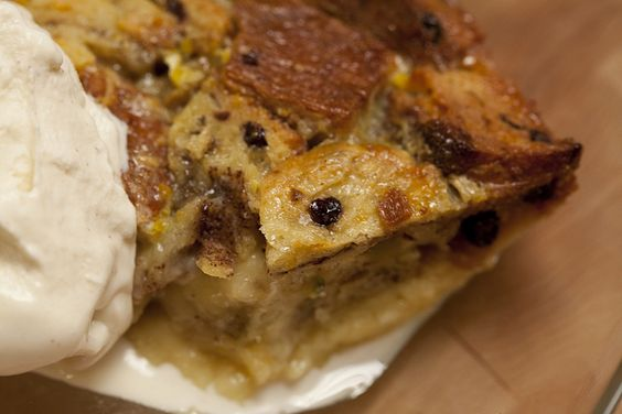 Christmas Bread Pudding Food Network recipes | Holiday Bread Pudding with Homemade Spiced Orange-Pistachio-Hazelnut ...