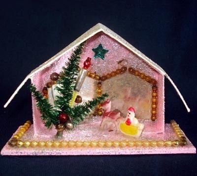 Reindeer Putz House