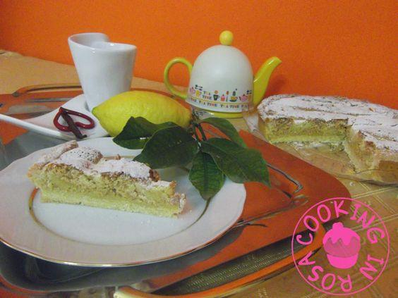 Cooking in Rosa: Crostata al limone e savoiardi