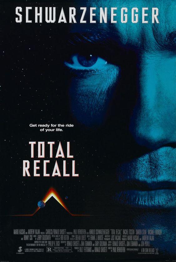 """Total Recall"" > 1990 > Directed by: Paul Verhoeven > Action / Adventure / Science Fiction / Sci-Fi Action / Space Adventure / Tech Noir"