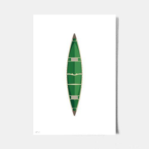 Roo Kee Roo Canoe Print from Common Deer
