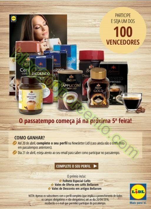 Novo Passatempo LIDL especial cafés, atentos ao email dia 21 abril - http://parapoupar.com/novo-passatempo-lidl-especial-cafes-atentos-ao-email-dia-21-abril/