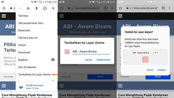 Tips Dan Trik Google Chrome Versi Seluler Android Dan Ios Trik Android Ponsel Tips