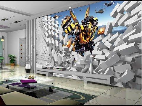 20 Most Stunning 3d Wallpaper For Walls Decorating Design My Basement 61012322 Best Flooring For Unfini 3d Wallpaper For Walls Wall Wallpaper Room Wallpaper