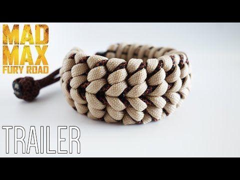 Mad Max Bush Viper Paracord Bracelet Tutorial Trailer Patreon