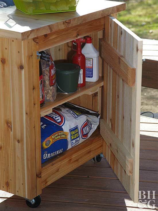 16 Deck Storage Ideas To Try Deck Storage Diy Deck Patio Storage