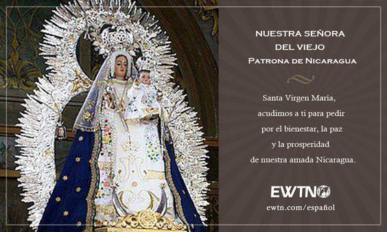 Nicaragua tiene su fiesta patronal en el dia de la Inmaculada Concepción con la advocación a Nuestra Señora del Viejo.