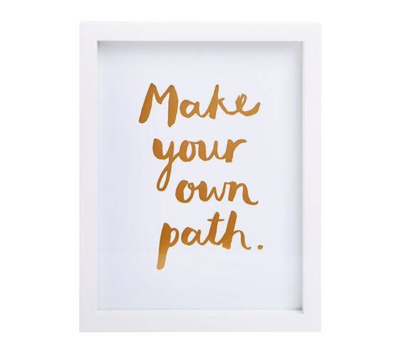 Be Inspired To Make Your Own Path With This Gorgeous