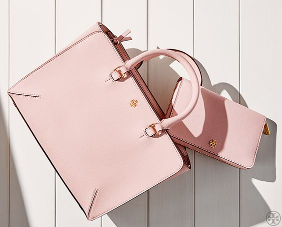 #TheRobinson in Pale Apricot | Tory Burch