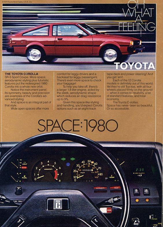 Toyota Corolla SE5 Sport Coupé - adv (1980s)