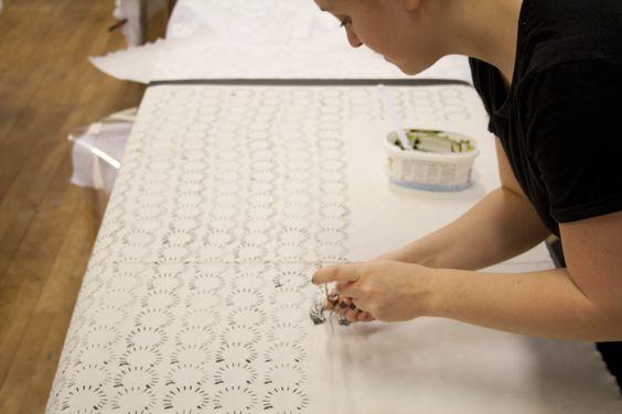 Alternative printing tecnique Tillskärarakademin i Göteborg