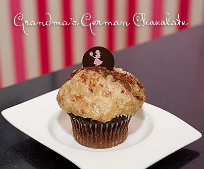 Casey's Cupcakes Grandma's German Chocolate.