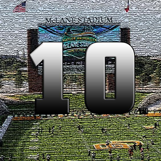 At No. 10, #Baylor football earns its highest ranking in the preseason AP Top 25 since 1957. #SicEm