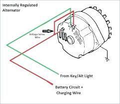 resultado de imagen para 3 wire alternator wiring diagram | alternator, wire,  diagram  pinterest
