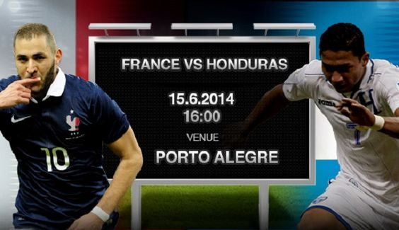 France vs Honduras match, get full info about France vs Honduras lineup, France vs Honduras preview, France vs Honduras statistics, France vs Honduras time