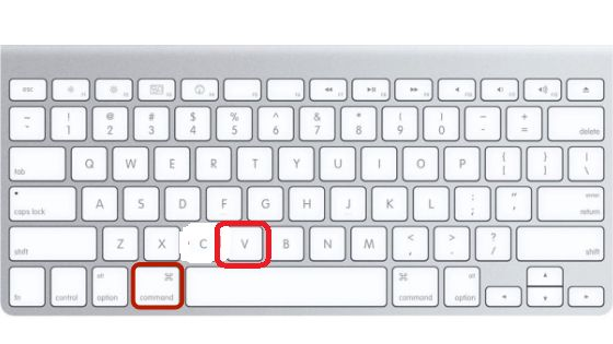 How To Copy And Paste On A Macbook Easy Way Mac Keyboard Shortcuts Keyboard Keyboard Shortcuts