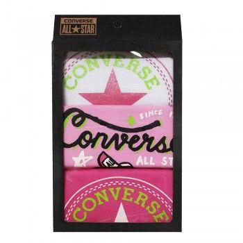 Converse Baby Mädchen 3er Strampler Bodys Geschenk-Set 3-6 Mon #converse #baby #mode #modefreund #fashion #allstar