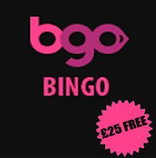 The £25 free bonus at bgo Bingo is sure to keep you occupied. Deposit £5 to claim your £25 bonus. Newbies will also get 20 free spins simply on registration. JOIN NOW:  	http://media.bgo.com/C.ashx?btag=a_1550b_97c_&affid=1660&siteid=1550&adid=97&c=BE-SM
