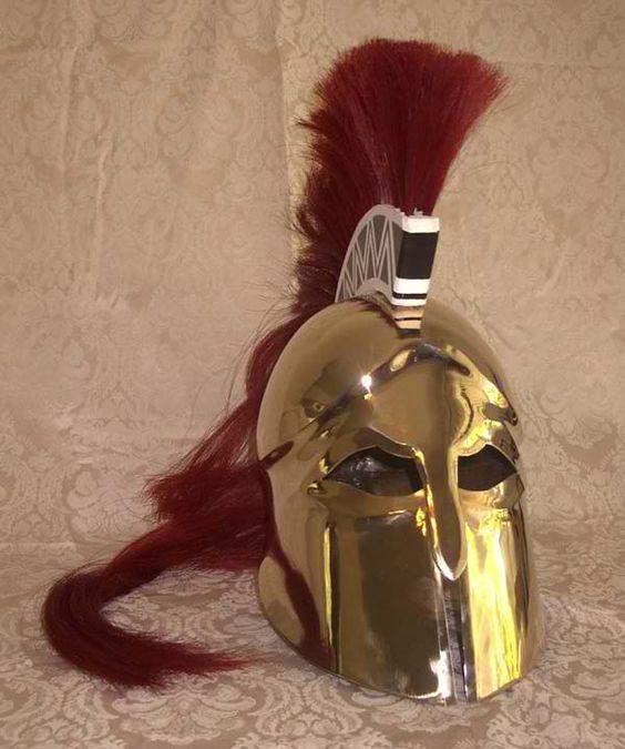 Greek Helmet And Helmets On Pinterest