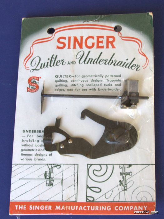 Singer Featherweight Attachments