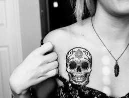 tattoo calavera mexicana pierna - Buscar con Google
