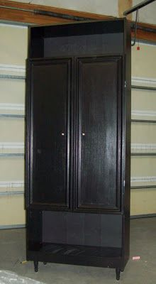 Running With Scissors Bookshelf To Pantry Cheap Way To Dress Up Those Particle Board Shelves