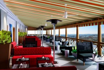 W hotel Washington DC. Make reservations for drinks - one of the best views of Washington. Washington, D.C.
