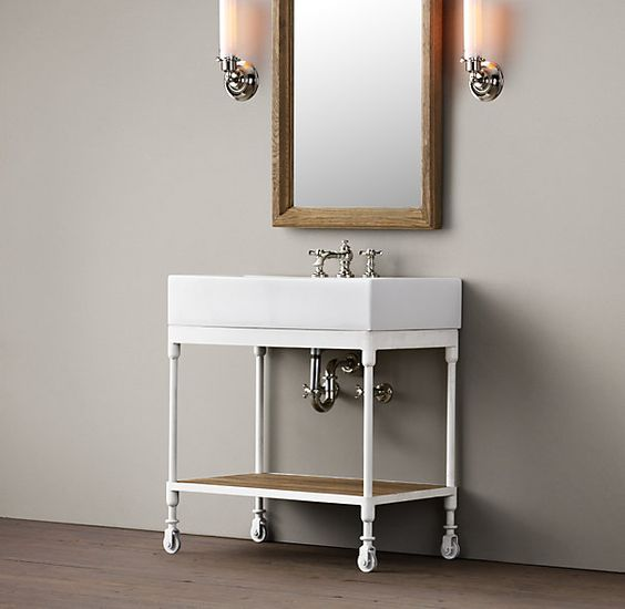Bathroom Sink Option Dutch Industrial Single Console 850 It May Be A Little Too Big For Our